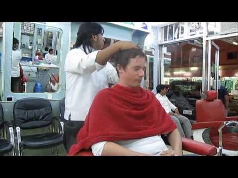 Doha:at the barbershop