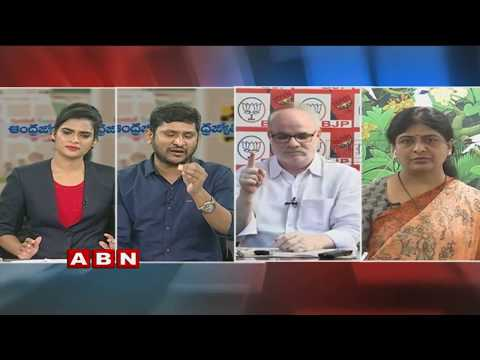 Debate | CM Chandrababu Naidu Angry on Opposition Parties | Part 2 | ABN Telugu