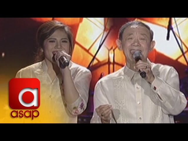 """ASAP: Jose Mari Chan and Janella sing """"Christmas in our Hearts"""""""