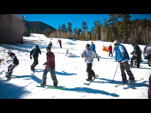 Skiing and Snowboarding Near Mount Charleston Las Vegas NV