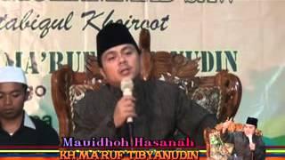 PENGAJIAN SUARA MERDU KH MA'RUF TIBYANUDIN DARI KEBUMEN 01