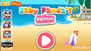 Baby Panda's Vacation Game