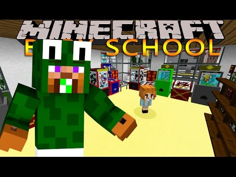 Minecraft -BABY SCHOOL DAYCARE - WE LOSE BABY DUCK!!