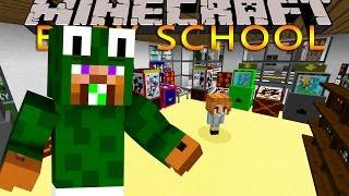 Minecraft -BABY SCHOOL DAYCARE - WE LOSE BABY DUCK!!