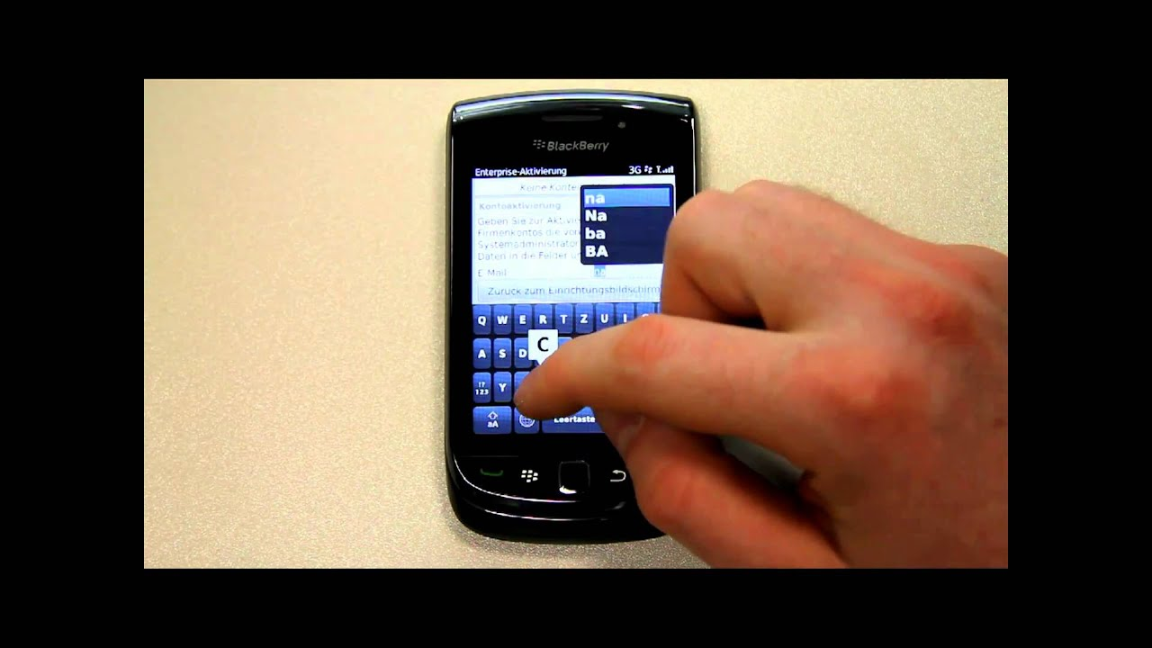 How to activate a BlackBerry on a BES CrackBerrycom