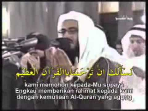 Do'a Qunut Syeikh Mishary Rashid (Subhanallah indah sekali) [HQ] (IPH's video collections)