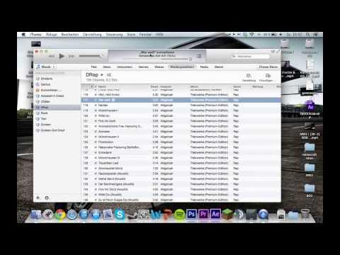 Mac - M4A to MP3 mit iTunes [DEUTSCH][HD]