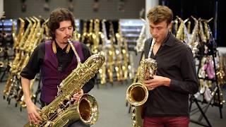 download lagu Baritone & Bass Saxophone Duet gratis