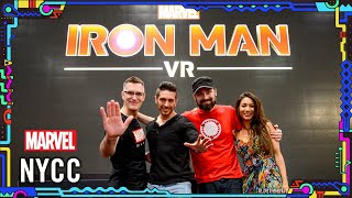 Marvel's Iron Man VR: Voices of the Game | NYCC 2019 Panel