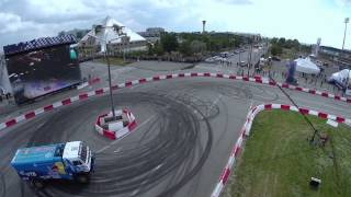 Дрифт «КАМАЗа» на Kazan City Racing 2014