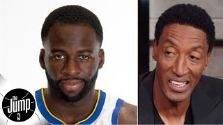 Scottie Pippen agrees with Draymond Green: The Warriors are still contenders | The Jump