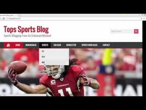 Tops Sports.com Website Update