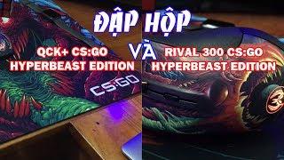 Đập Hộp Rival 300 CS:GO Hyperbeast Edition Và QCK+ CS:GO Hyperbeast Edition