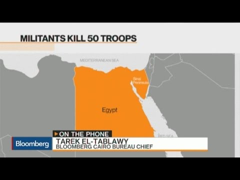 Militant Attack Kills 50 in Egypt