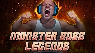 MONSTER BOSS LEGENDS of swag (Twitch Rivals Day 1 Highlights)
