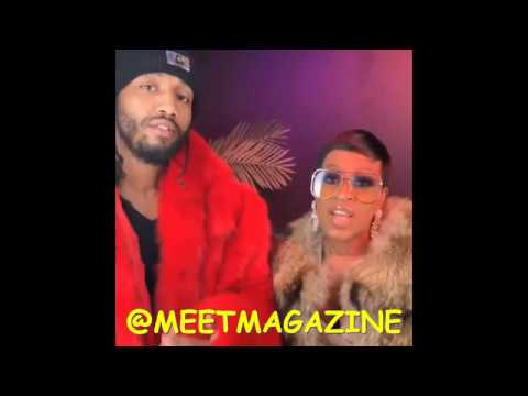 Lil Mo fight vs Karl Dargan Husband CAUGHT ON CAMERA facetiming another woman on Marriage Bootcamp