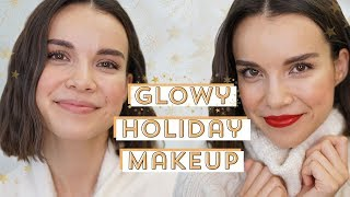 Glowy Holiday Makeup Tutorial + Q&A | Ingrid Nilsen