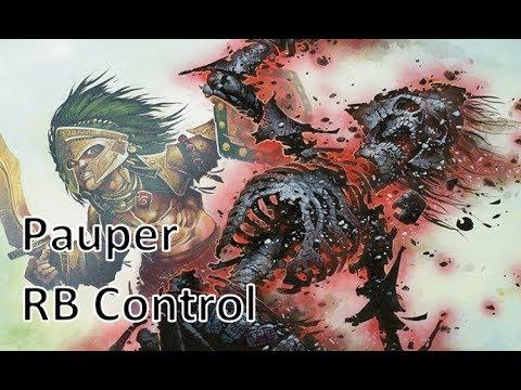 MTG Pauper BR Control vs Burn