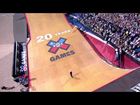X Games Skateboard Big Air Competition