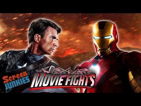 Captain America vs. Iron Man - MOVIE FIGHTS!