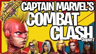 🔴LIVE CAPTAIN MARVEL'S COMBAT CLASH! + 5 Star Crystal Opening! + T4B Arena!
