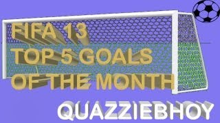 FIFA 13 Goals Of The Month | Division 10 - Episode 1 [HD] (NEW SERIES)