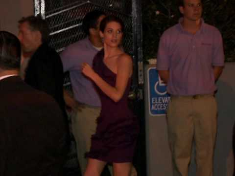Lyndsy Fonseca Outside 'Kick Ass' Premiere Party Video