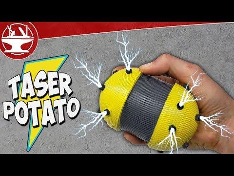 40,000V TASER POTATO (World's Worst Party Game)