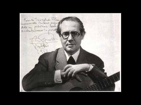 Andres Segovia - 5 Anecdotes - 1 - To Paquita