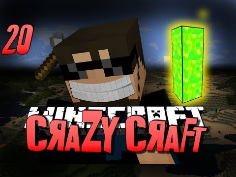 Minecraft CRAZY CRAFT 20 - Getting Stronger w/ Poppets (Minecraft Mod Survival)