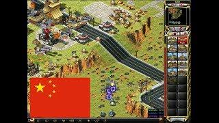 Red Alert 2 - China vs 7 brutal enemy