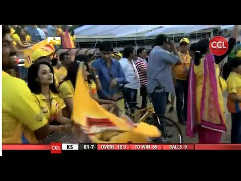 CCL 5 Kerala Strikers Vs Chennai Rhinos 2nd Innings Part 4/4