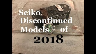 seiko discontinued models of 2018