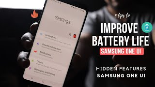 Improve Battery Life in Samsung One UI | S8, S9, S10, and NOTE 9 Devices