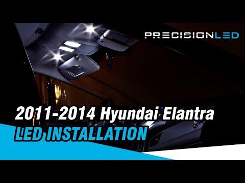 Hyundai Elantra LED Install - 2011+