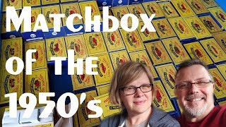 Matchbox of the 1950's – Video #215 – May 24, 2017