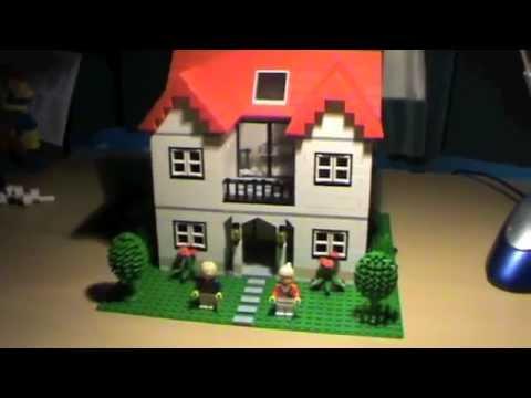standard moc lego house 4 youtube. Black Bedroom Furniture Sets. Home Design Ideas