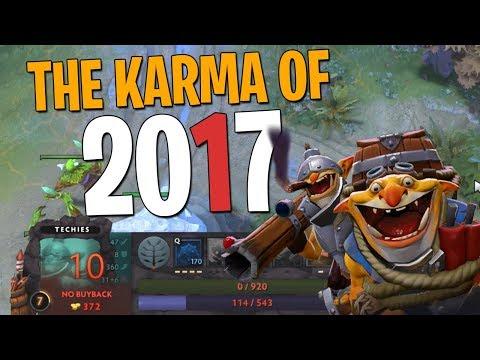 The Karma of 2017 - DotA 2 Techies Full Match