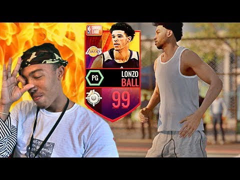 BEST CARD IN THE GAME?! 99 LONZO BALL (NBA LIVE MOBILE)