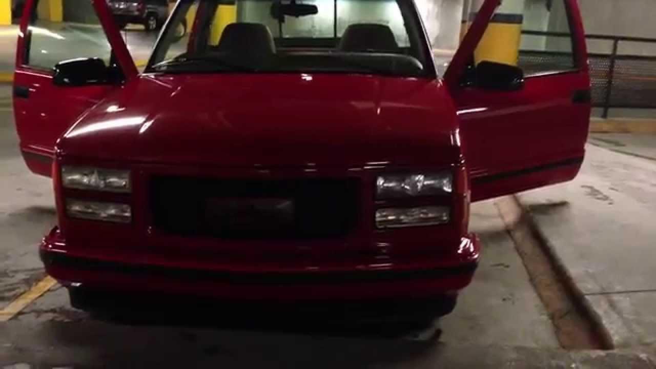 Chevy Ss Truck >> 1998 CHEVROLET CHEYENNE 400 SS PROCAR - YouTube