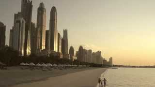 Beaches in Dubai - Beach Vacation Video