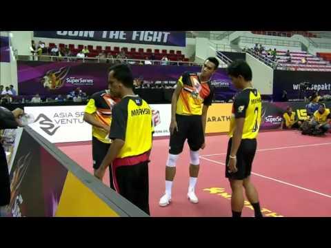 Sepaktakraw [iss Myanmar] - Malaysia Vs Korea video