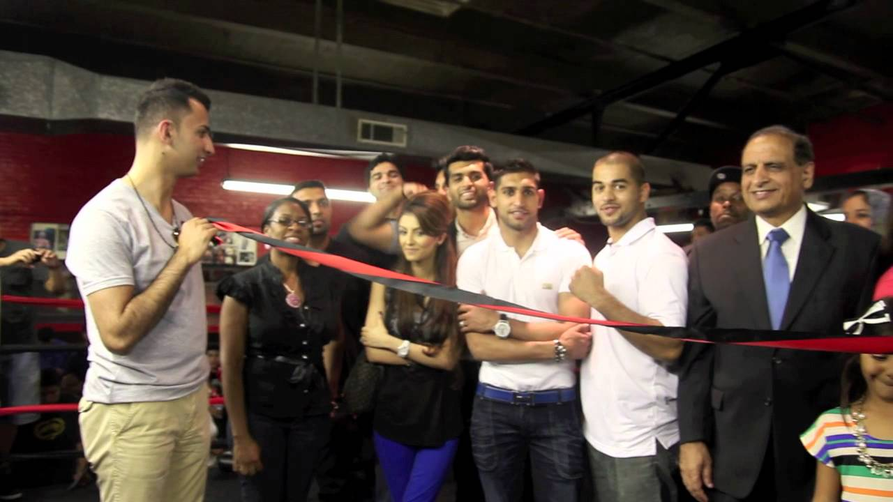 Amir Ali With Amir Khan Sadam Ali