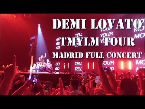 Demi Lovato - Tell Me You Love Me Tour Madrid, Spain (Full Concert HD)