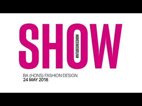 NTU Fashion Design Catwalk, 24 May 2018