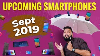 Top 10 Best Upcoming Mobile Phones in Sept 2019 ⚡⚡⚡