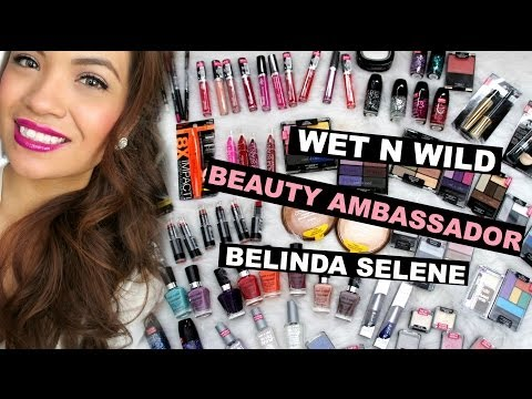 Wet N Wild Beauty Ambassador, Huge Haul, and Giveaway! | Belinda Selene