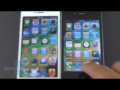 Apple iPhone 5 vs Apple iPhone 4S