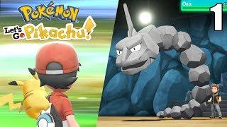 ¡COMIENZA LA POKEAVENTURA! 😮 PRIMER GYM - Pokémon Let's Go #1 En Español - Nintendo Switch