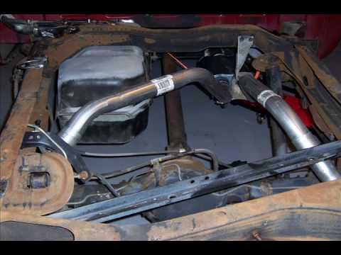 1989 Silverado 350 K 1500 High Flow Exhaust Installation